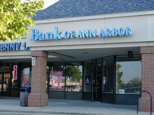 Bank of Ann Arbor: 2649 Plymouth Rd, Ann Arbor, MI