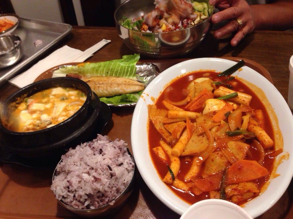 how to make korean spicy tofu soup