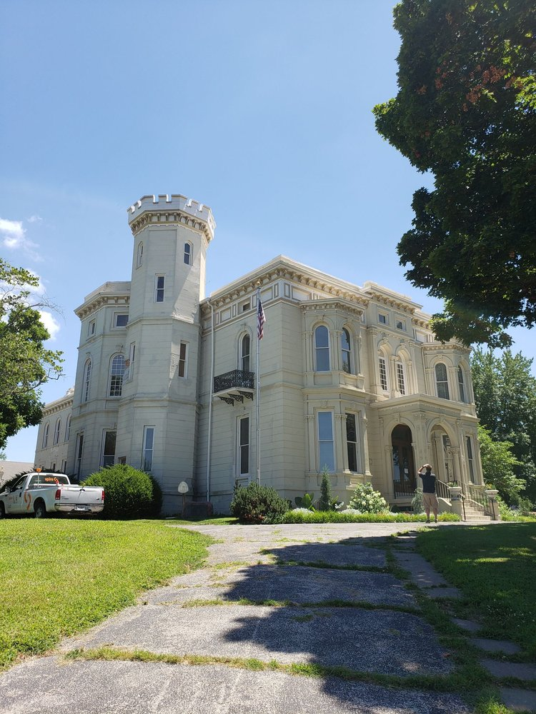 The Wyeth-Tootle Mansion: 1100 Charles St, St. Joseph, MO