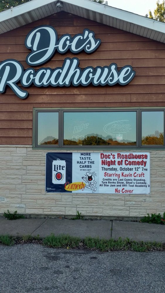 Doc's Roadhouse Bar & Restaurant: W14301 Co Rd C, Ettrick, WI