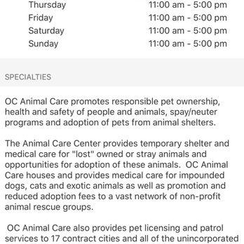 OC Animal Care - 514 Photos & 372 Reviews - Animal Shelters