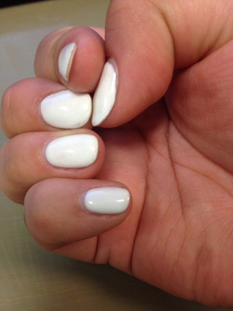 No-chip nails after 3 days. Polish is fading, color can be peeled ...