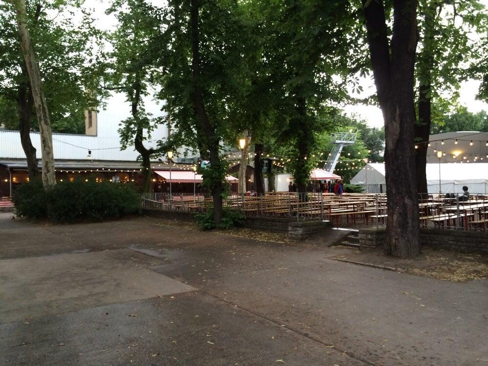 Photo of Prater Garten - Berlin, Germany. Prater Garten bei Regen...