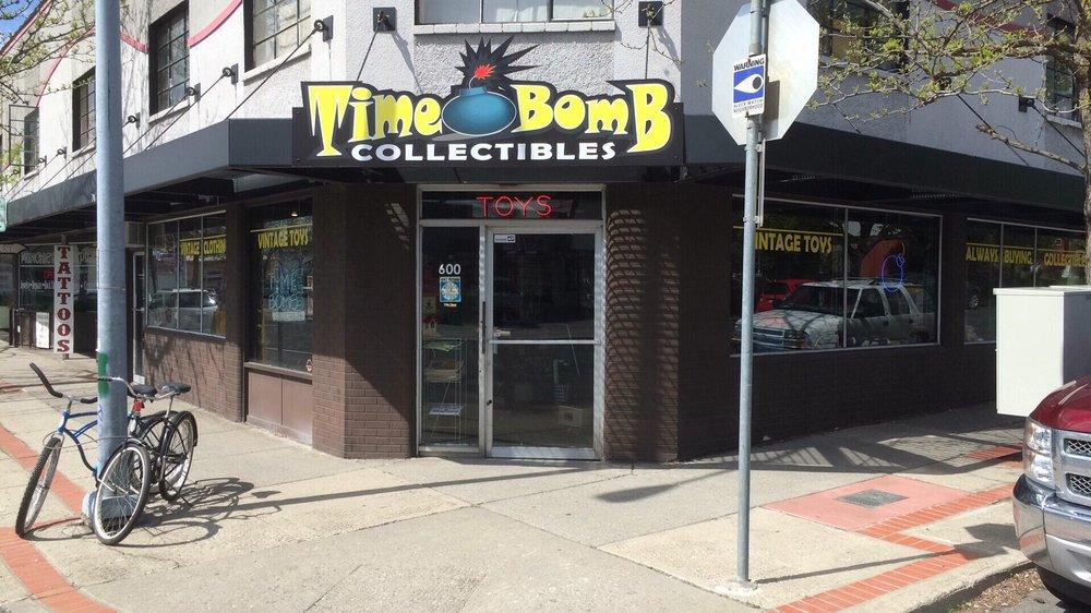 Time Bomb Collectibles: 600 W Garland Ave, Spokane, WA