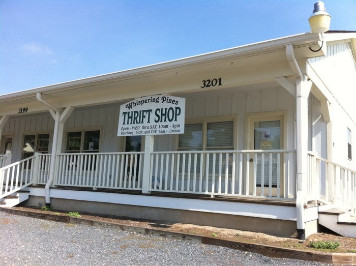 Whispering Pines Thrift Shop: 3199 Vass Carthage Rd, Carthage, NC