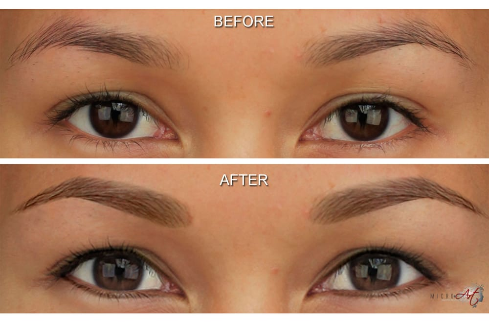 53ba7f214 MicroArt Eyebrows and eyeliner - Before & Afters - Yelp