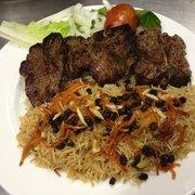 Kabuli palau menu arya kabob house flushing for Arya global cuisine yelp