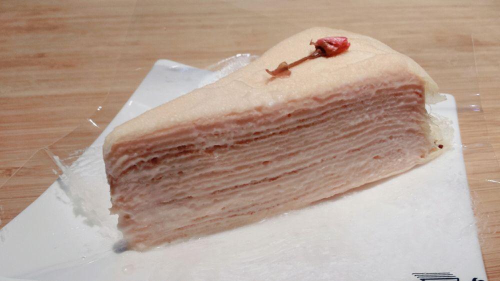 Korean Crepe Cake Recipe: Millie Sakura Crepe Cake