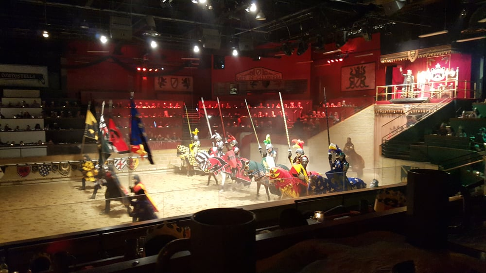 At Medieval Times, armor-clad knights clash for the title of King's Champion in front of a wide-eyed audience that fills the battlefield with cheers and jeers between bites of a four-course acesso-servidor.cf: $