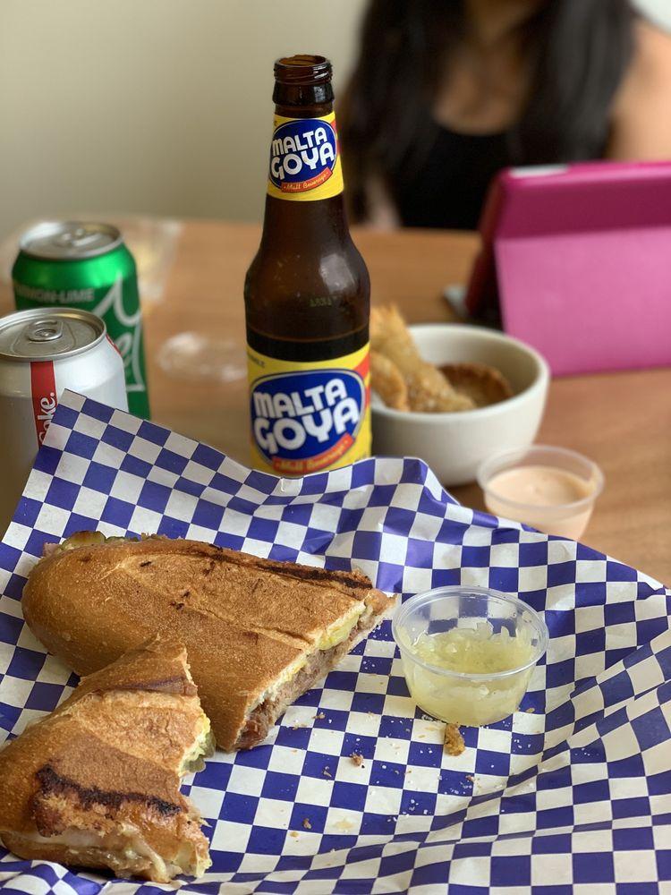 Food from El Cubano