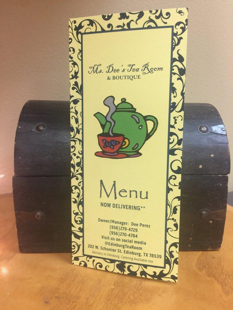 Ms Dee's Tea Room: 202 W Schunior St, Edinburg, TX
