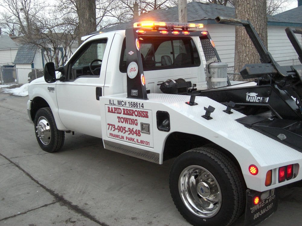 Towing business in Leyden, IL