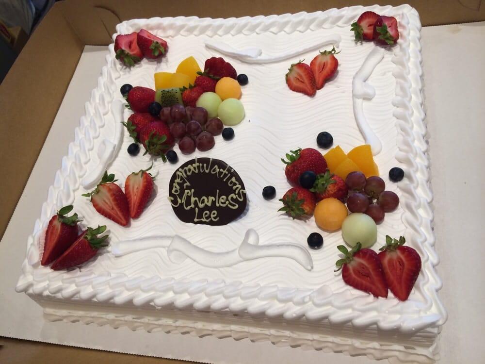 Fruit filled 3/4 sheet cake - Yelp