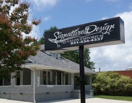 Signature Design Salon Emporium: 211 West Coffee St, Tullahoma, TN