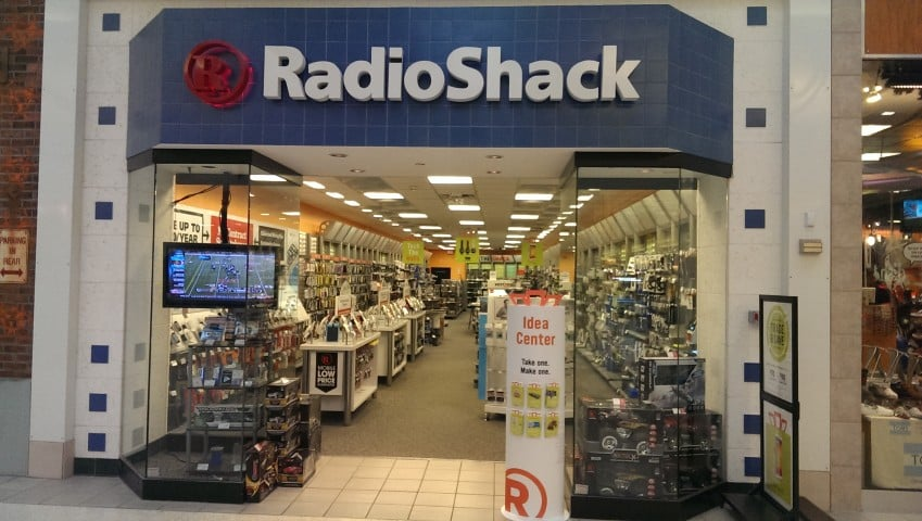 Radio Shack Fashion Square Mall