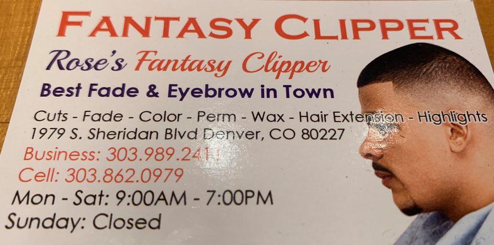 Rose's Fantasy Clipper: 1979 S Sheridan Blvd, Denver, CO