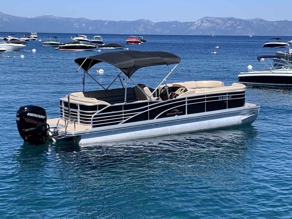 Social Spots from Lake Tahoe Luxury Boat Rentals