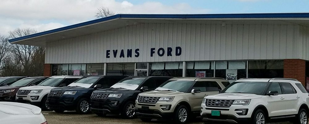 Evans Ford: 1400 South 5th St, Carrollton, IL