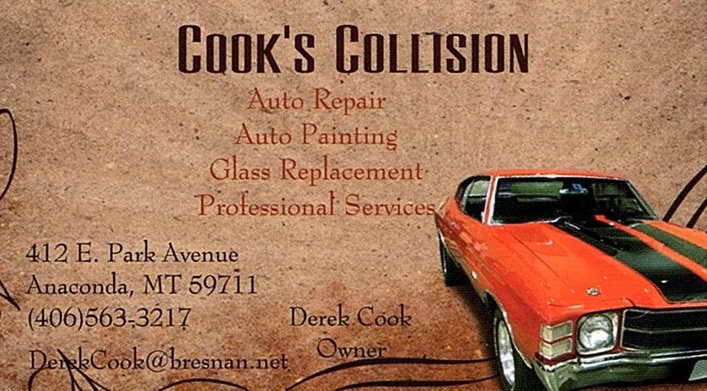 Cook's Collisions: 412 E Park Ave, Anaconda, MT