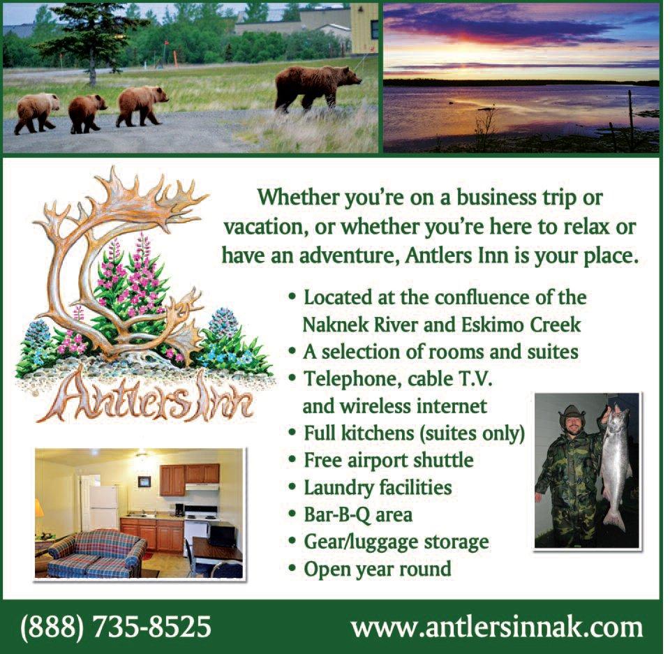 Antlers Inn: Mile 1, Alaska Peninsula Hwy, King Salmon, AK