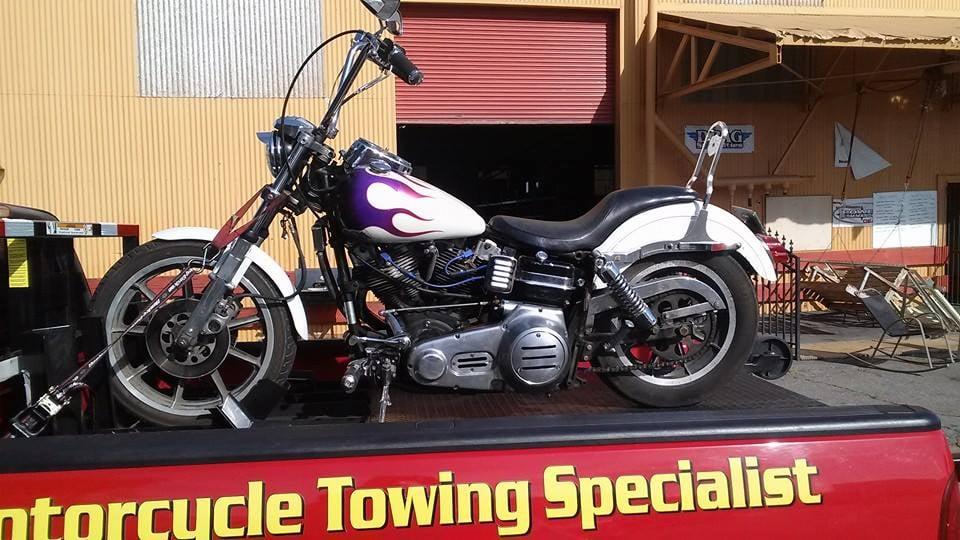 Stockton Motorcycle Towing: 2217 E Miner Ave, Stockton, CA