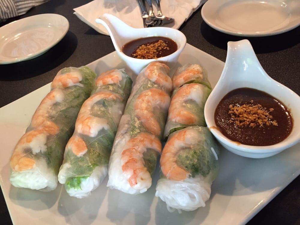 Spring rolls mostly noodles yelp for V kitchen ann arbor