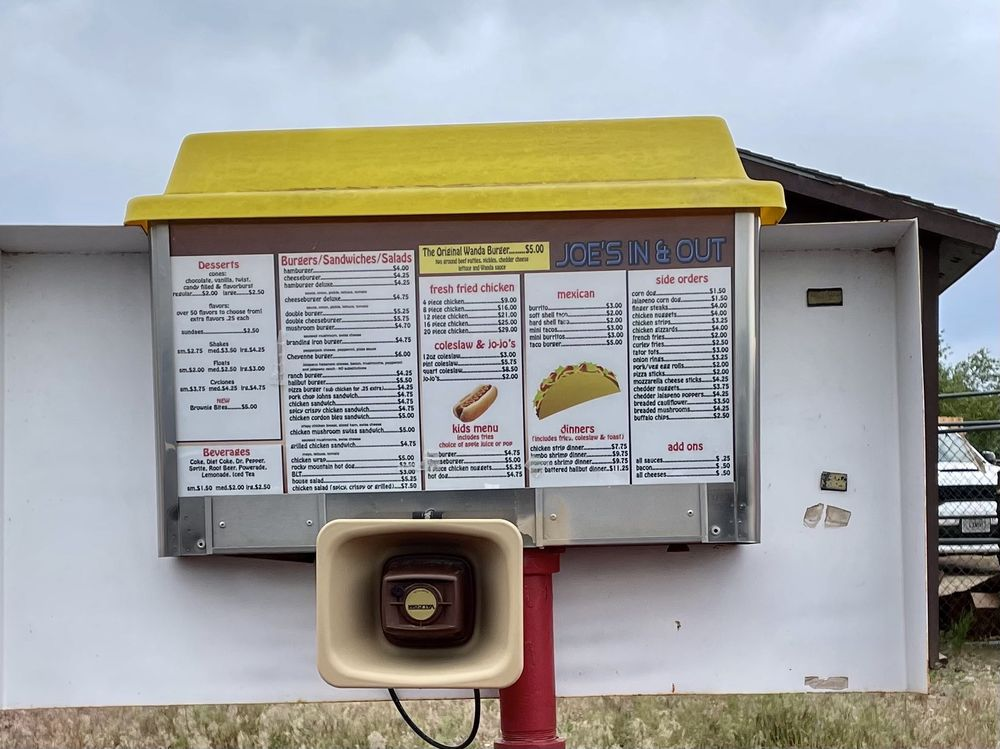 Joe's In and Out: 1170 US-191, Malta, MT