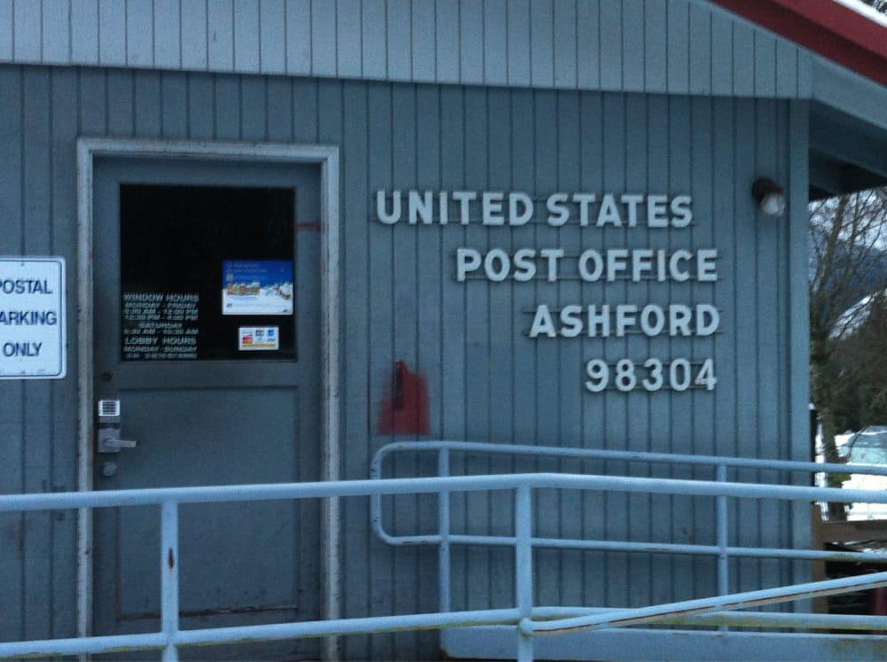 US Post Office: 30312 State Route 706 E, Ashford, WA