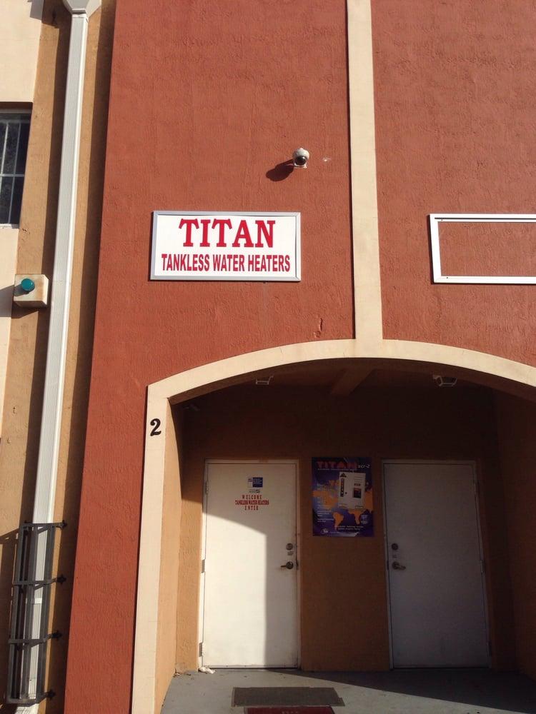 titan tankless water heaters - water heater installation/repair