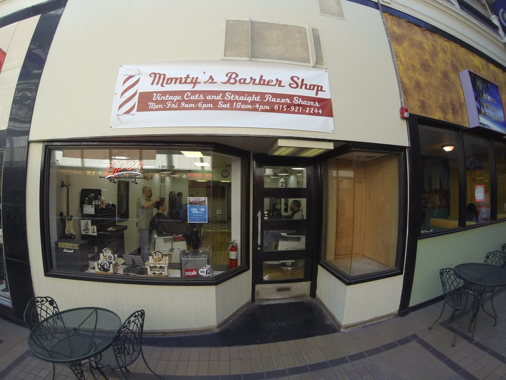 Photos for Montys Barber Shop - Yelp