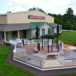 Photo Of Coventry Lumber   Coventry, RI, United States. Largest Outdoor  Decking Display