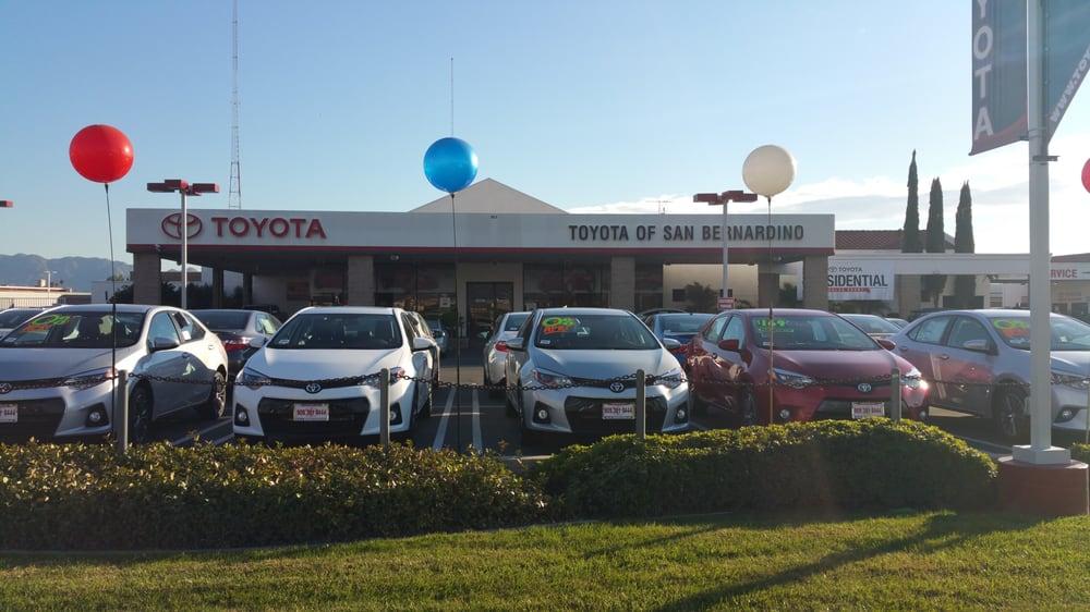 San Bernardino Toyota >> Toyota Of San Bernardino Today Yelp