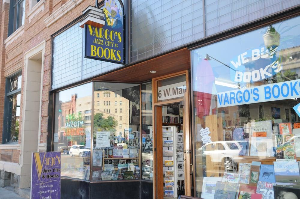 Vargo's Jazz City & Books: 6 W Main St, Bozeman, MT