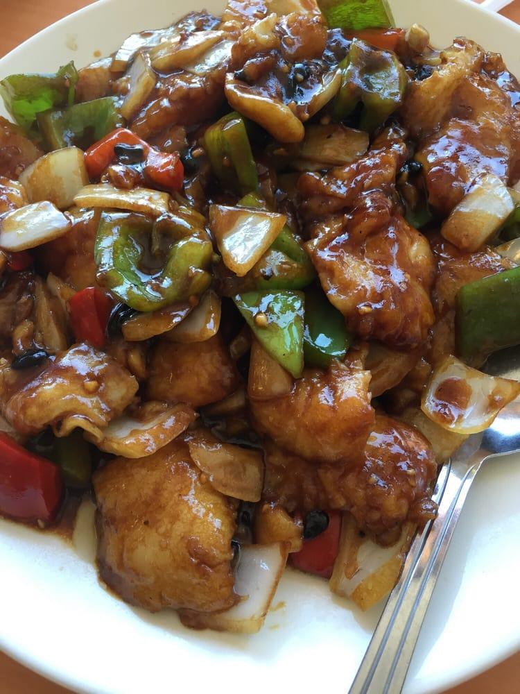 Fish Filet Black Bean Sauce Yelp