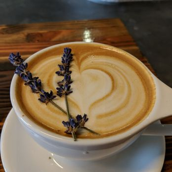 Photo Of Hi Top Coffee Fresno Ca United States Lavender Latte