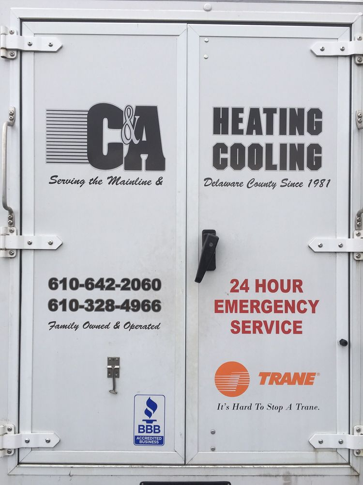 C & A Heating & Cooling: 40 Forest Rd, Springfield, PA