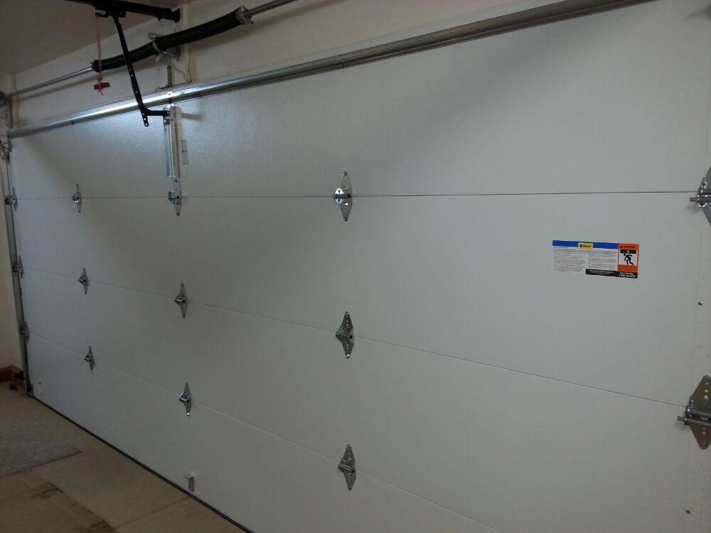 16x7 Steel Back Garage Door Yelp