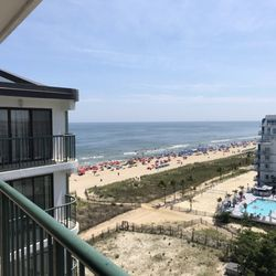 Photo Of Summer Beach Iniums Ocean City Md United States View