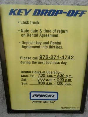 Penske Truck Rental 2876 Market St Garland Tx Phone Number Yelp
