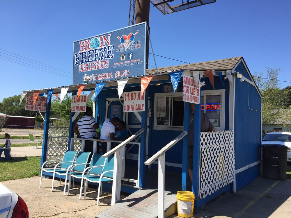 Brain Freeze Delights: 3813 Florida Blvd, Baton Rouge, LA