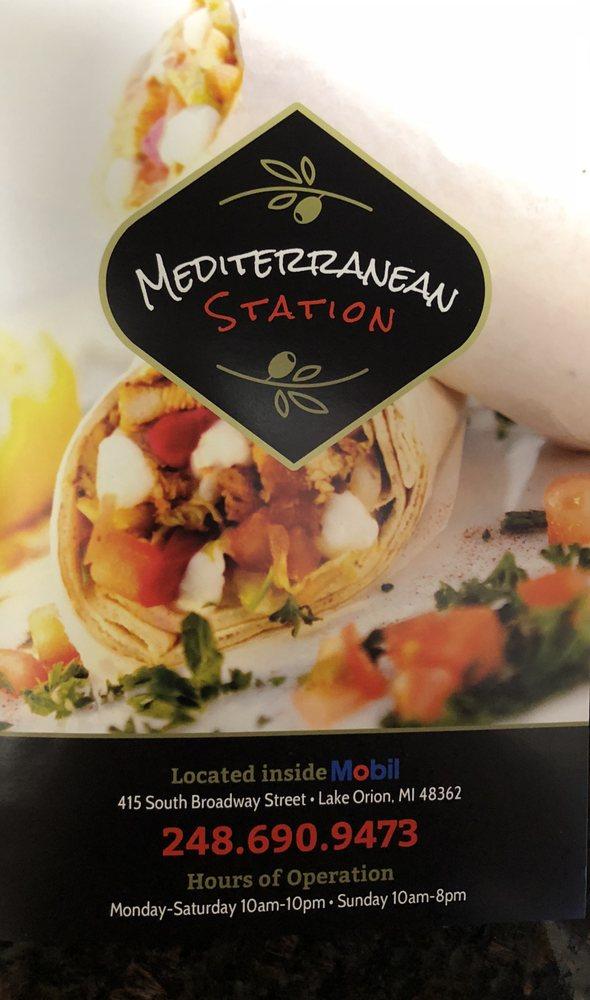 Mediterranean Station: 415 South Broadway St, Orion charter Township, MI