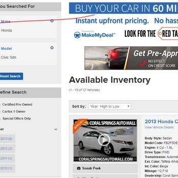 Coral springs honda 22 photos 84 reviews car dealers for Honda dealer phone number