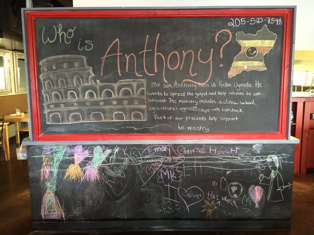 Anthony S Italian Kitchen Tuscaloosa Al