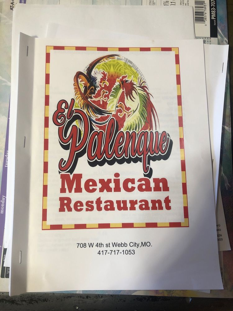 El Palenque: 708 W 4th St, Webb City, MO