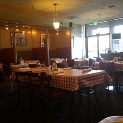 Photo Of Angelini S Italian Restaurant Turlock Ca United States Seating
