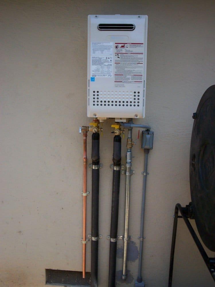 Residential Noritz Tankless Water Heater Outdoor Model N