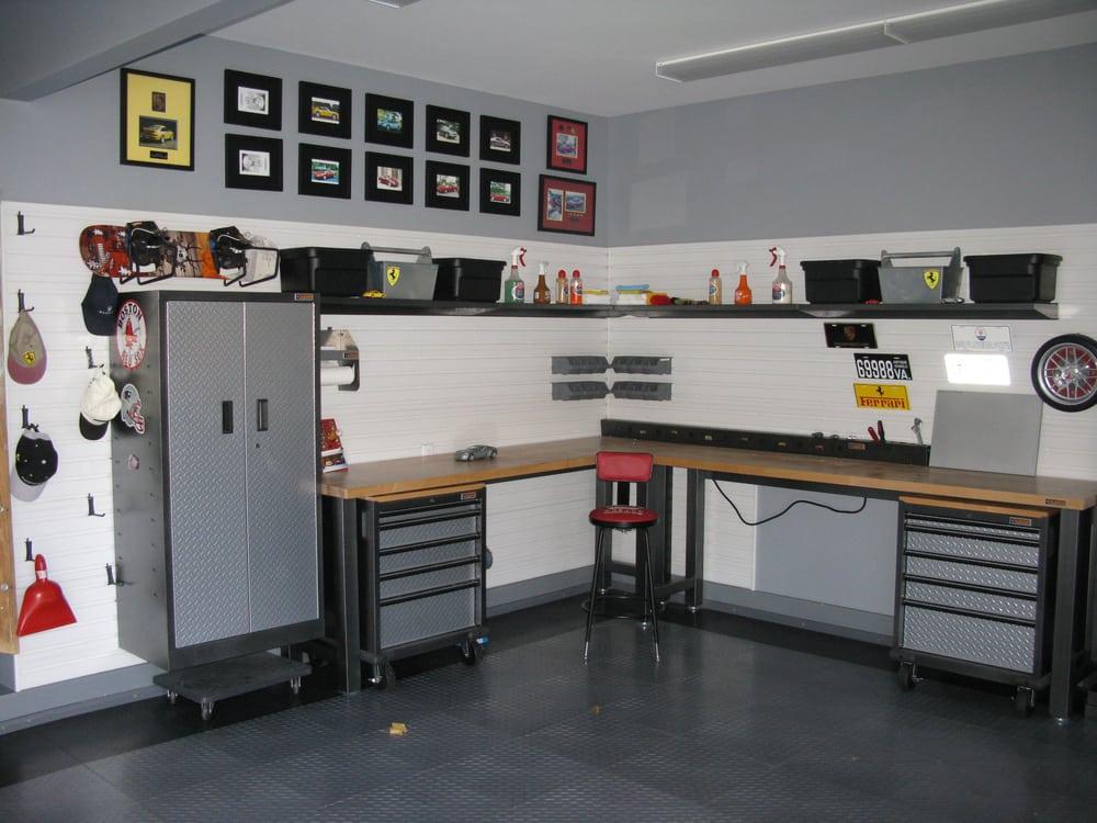 Garage Storage Setup : A gladiator workbench setup yelp