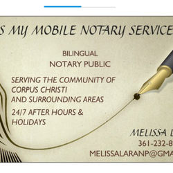 Mels My Mobile Notary Services - Notaries - 1442 Coahuila