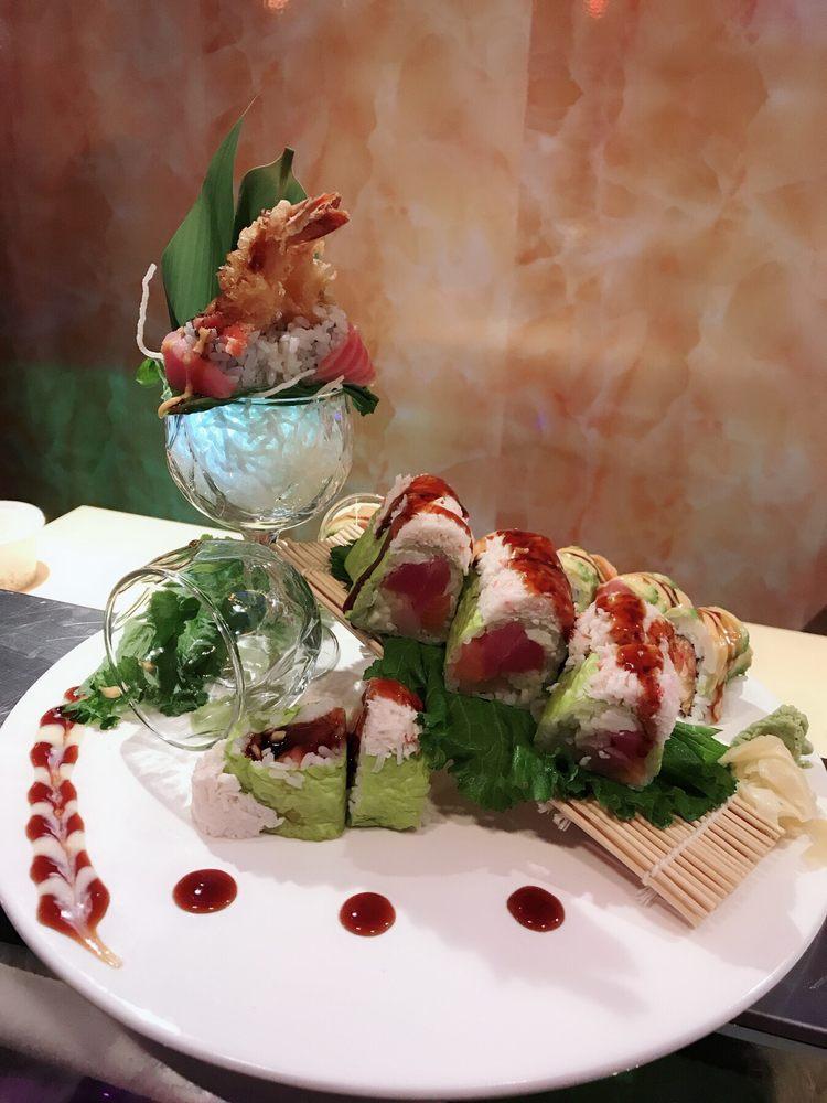 Ming's Akari Sushi & Hibachi: 1400 W Airline Hwy, Laplace, LA