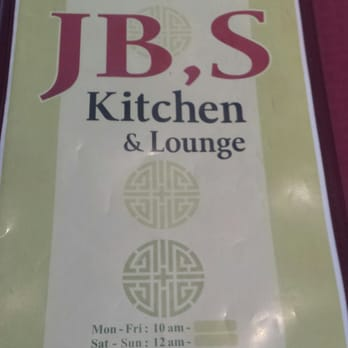 Jb S Kitchen Menu Yelp